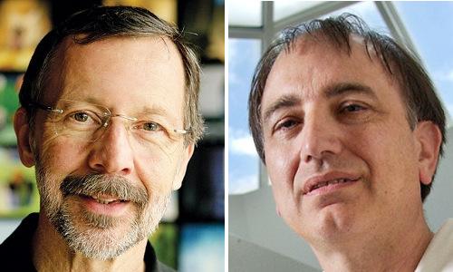 ACM A.M. Turing Award recipients Ed Catmull and Pat Hanrahan